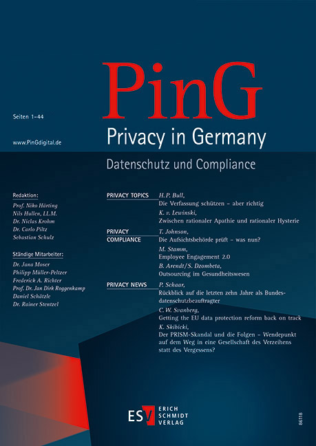 PinGPrivacy in Germany